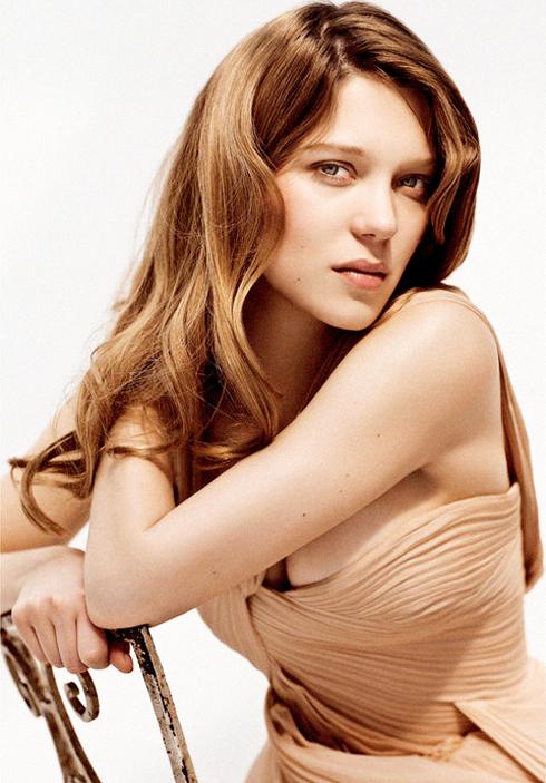 Léa trên tạp chí  L'Express năm 2010