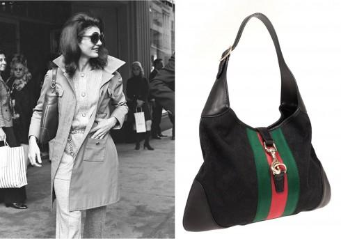 Gucci giới thiệu lại nhiều mẫu Bouvier hay Jackie O vốn từng được đệ nhất phu nhân nước Mỹ rất ưa chuộng