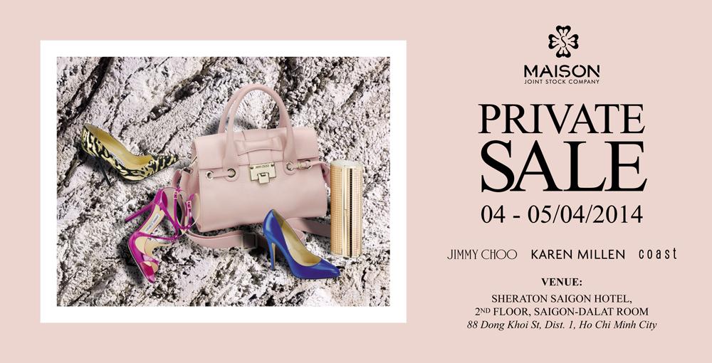 Private Sale 2014 tại Intercontinental Asiana Saigon