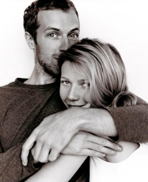 Hình ảnh hạnh phúc của Gwyneth Paltrow và Chris Martin