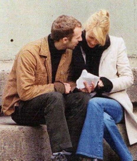 Gwyneth Paltrow và Chris Martin thuở mới hẹn hò