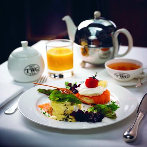 Bữa ăn trưa nhẹ tại quán trà cao cấp (Tea Salon) TWG Marina Bay Sands