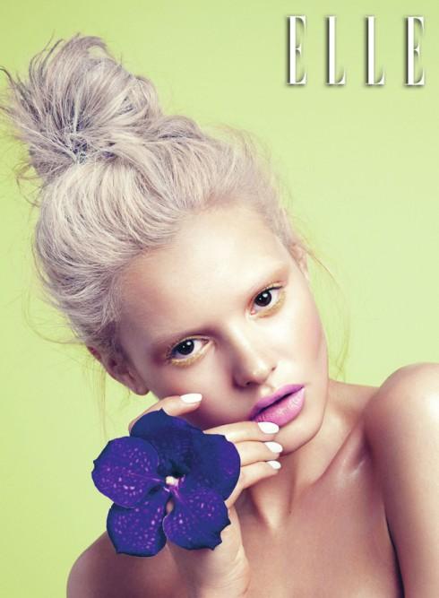 Chỉ một đôi môi tô son màu nổi cũng đủ biến đổi gương mặt hoàn toàn và còn gì gợi nhiều cảm hứng hơn sắc màu của những cánh hoa?