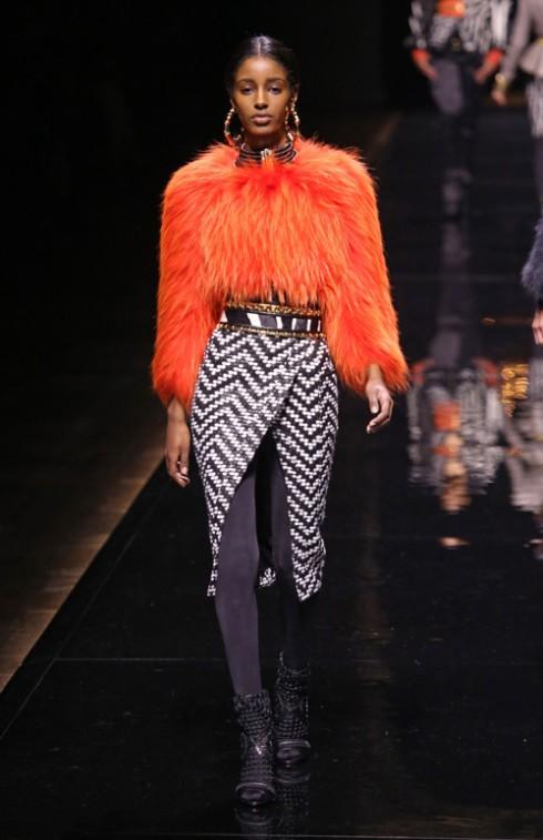 Balmain<br/>Paris Fashion Week Womenswear Fall/Winter 2014-2015 - Balmain - Catwalk  Where: Paris, France When: 27 Feb 2014 Credit: SIPA/WENN.com  **Only available for publication in Germany. Not available for publication in the rest of the world.**