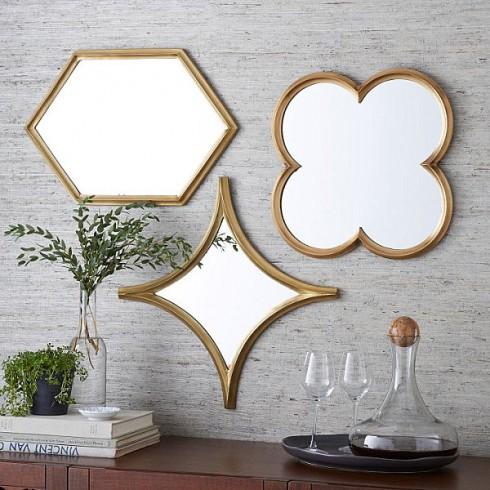 Bạn cũng có thể sử dụng gương trong những góc nhỏ trong căn nhà như điểm nhấn ấn tượng