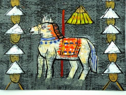 Minh họa truyện Thánh Gióng