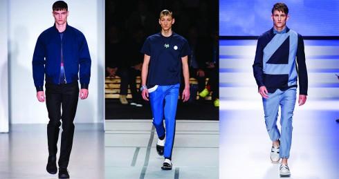 Từ trái qua: Salvatore Ferragamo, Kenzo, Calvin Klein