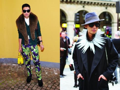 Bryan Boy chứng tỏ quan điểm không chỉ phụ nữ mới mang giày cao gót, đeo những chiếc túi hàng hiệu và những phụ trang xa xỉ, cũng như kỳ quái nhất!
