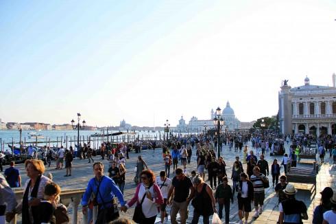 San Marco là nơi thu hút đông khách du lịch nhất ở Venice.