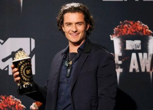 Orlando Bloom nhận giải Màn chiến đấu xuất sắc nhất