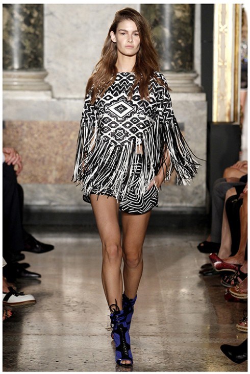 Emilio Pucci <br/>Emilio Pucci (Spring-Summer 2014) R-T-W collection at Milan Fashion Week