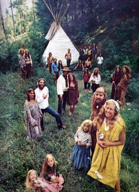 Một cộng đồng hippie