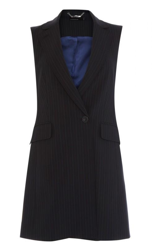 2. Karen Millen<br/>Chiếc áo kẻ sọc của Karen Millen có thể mang đến cho cô gái công sở vẻ chuyên nghiệp và cá tính.