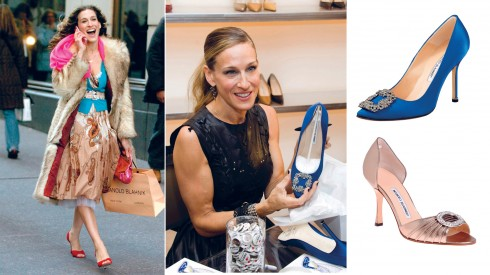 Cũng như nhân vật Carrie Bradshaw do cô thủ vai, Sarah Jessica Parker không khi nào ngần ngại chia sẻ tình yêu bất tận đối với những đôi giày Manolo Blahnik.