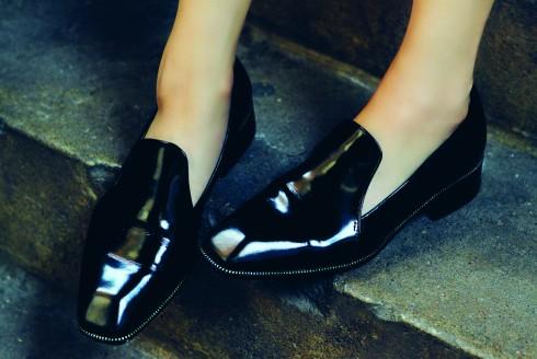 Giày da bóng Zara