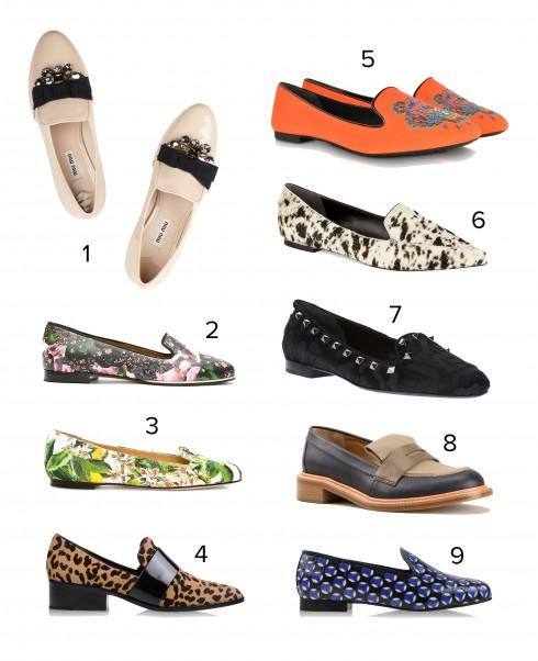 1.Miu Miu 2.Givenchy 3.Dolce&Gabbana 4.3.1 Phillip Lim 5.Kenzo 6.3.1 Phillip Lim 7.Valentino 8.Chloé 9.Marc Jacobs