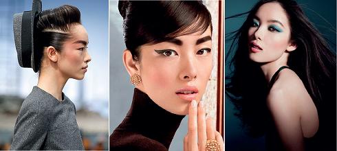 Sun feifei hiện là gương mặt châu Á hàng đầu trên các sàn diễn thời trang quốc tế