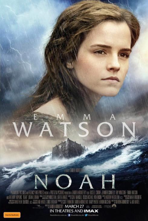Emma Watson đã có một vai diễn xuất sắc và ấn tượng trong Noah.