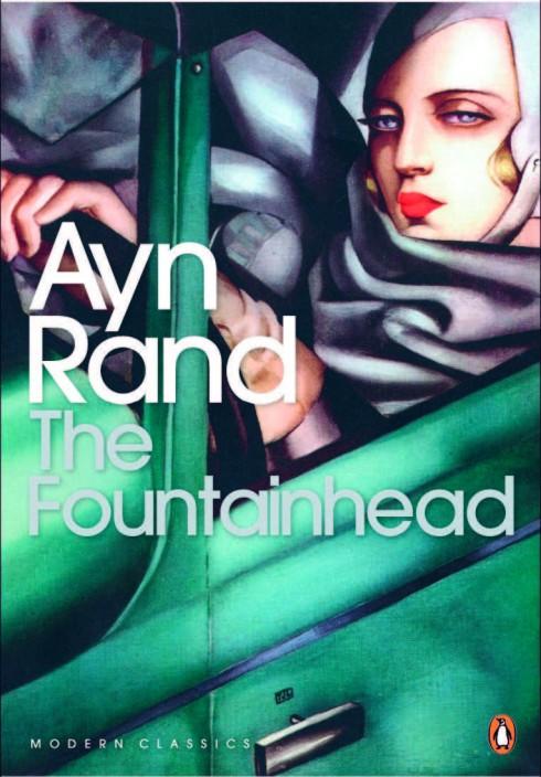 Cuốn sách Suối nguồn của tác giả Ayn Rand