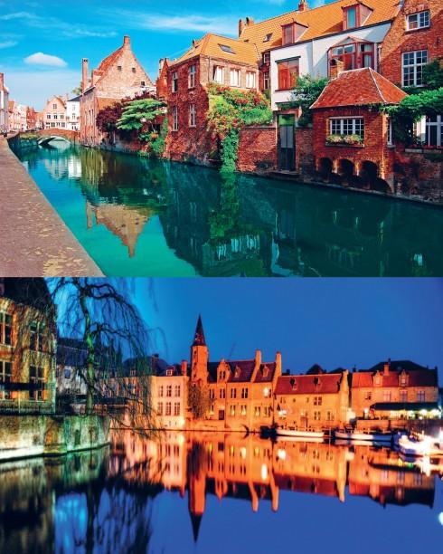 Bruges là nơi đã lưu giữ những kỷ niệm tuyệt vời nhất của chị Kim Thủy