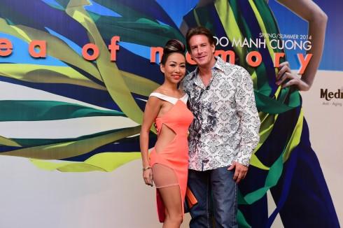 Thảo Trang gợi cảm bên bạn trai nước ngoài