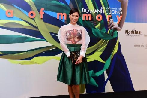 Người mẫu Trang Trần