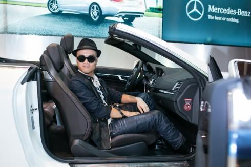 NTK Đỗ Mạnh Cường rất yêu thích thương hiệu Mercedes-Benz