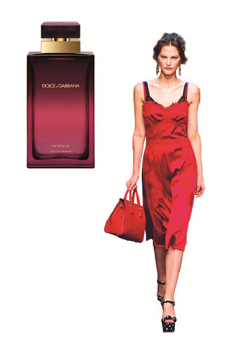 """Dolce & Gabbana<br/>Không hương nào diễn tả vẻ quyến rũ của những """"quả bom gợi tình"""" vùng Sicily bằng Intense, ngập tràn hoa huệ tây và gỗ đàn hương."""