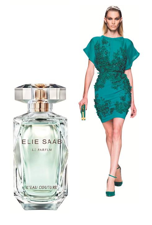Elie Saab<br/>Elie Saab luôn luôn gắn liền với sự thanh nhã, L'Eau Couture là món trang sức hoàn hảo đi cùng với đầm ren mùa Hè nhờ các nốt dịu dàng của mộc lan, cam chanh và vanilla.