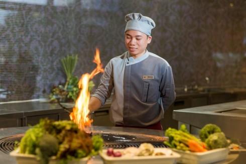 Pullman Saigon Centre- Food ConneXion Restaurant - Live cooking show