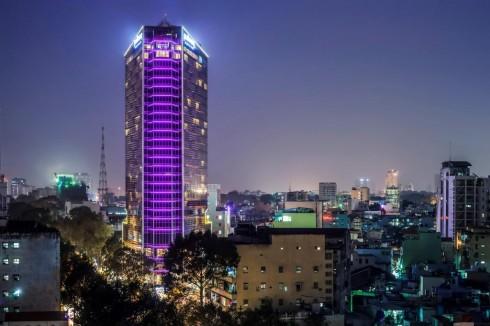 Pullman Saigon centre - Exterior Night time