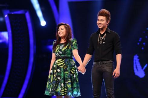 Minh Thùy và Đông Hùng cùng phải hát sing-off