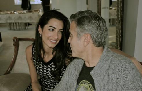 George Clooney và Amal Alamuddin chia sẻ khoảnh khắc hạnh phúc tại Châu Phi