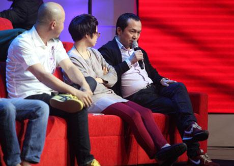 Rời ghế Giám đốc âm nhạc, Quốc Trung ngồi ghế khách mời bình luận.