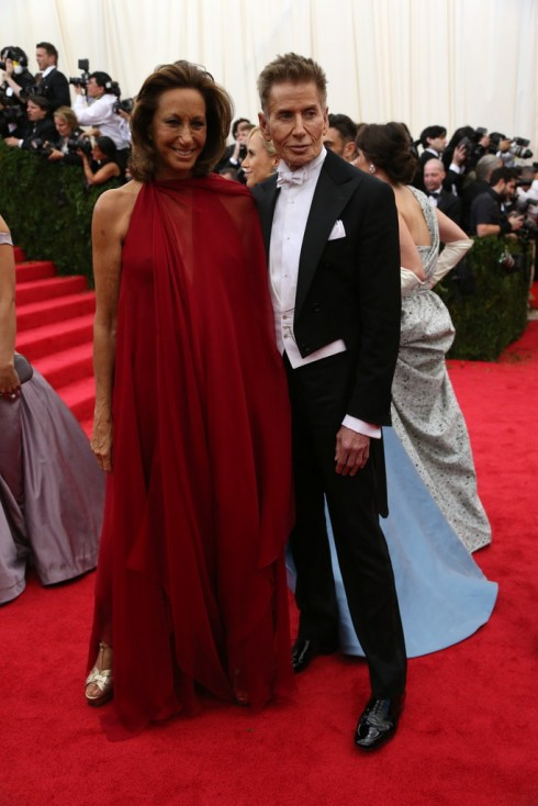 Donna Karan và Calvin Klein