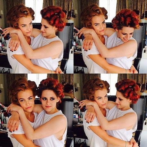Trước giờ G của Met Gala 2014: Kristen Stewart và Riley Keough