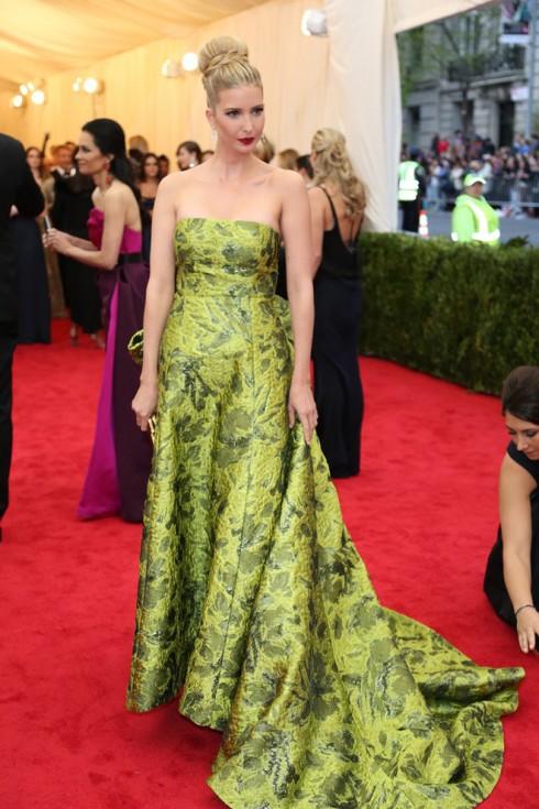 Con gái của tỉ phú Donald Trump và cũng là nhà kinh doanh thời trang thành công - Ivanka Trump