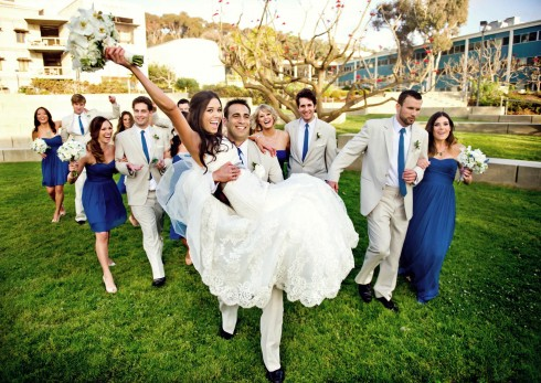 Wedding-Party-at-Scripps-Seaside-Forum-wedding-with-I-Do-Weddings