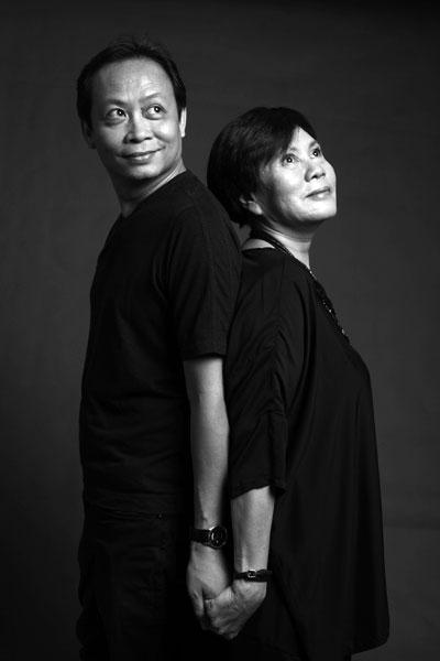 Đạo diễn Phạm Hoàng Nam và đạo diễn Thiên Thiên.