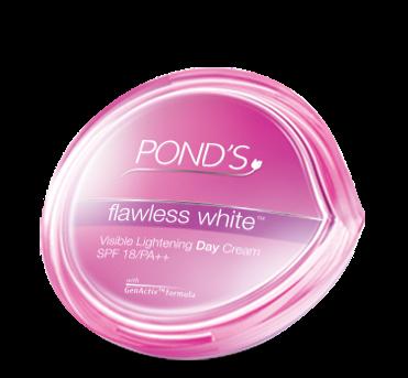 Pond's Flawless White – Kem dưỡng trắng da và giảm thâm nám SPF 18 PA ++