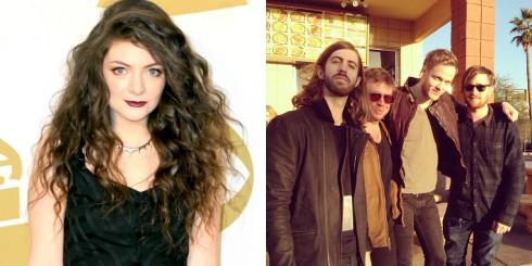 Lorde và ban nhạc Imagine Dragons đang đứng đầu bảng đề cử Billboard Award năm nay.