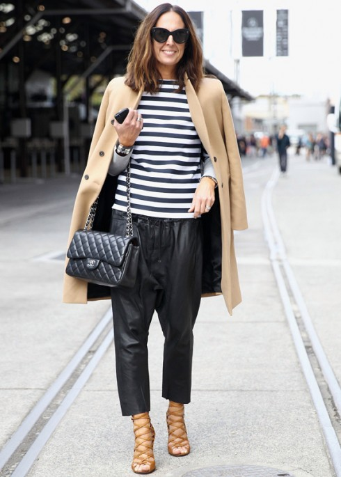 Street Style At Mercedes-Benz Fashion Week Australia 2014