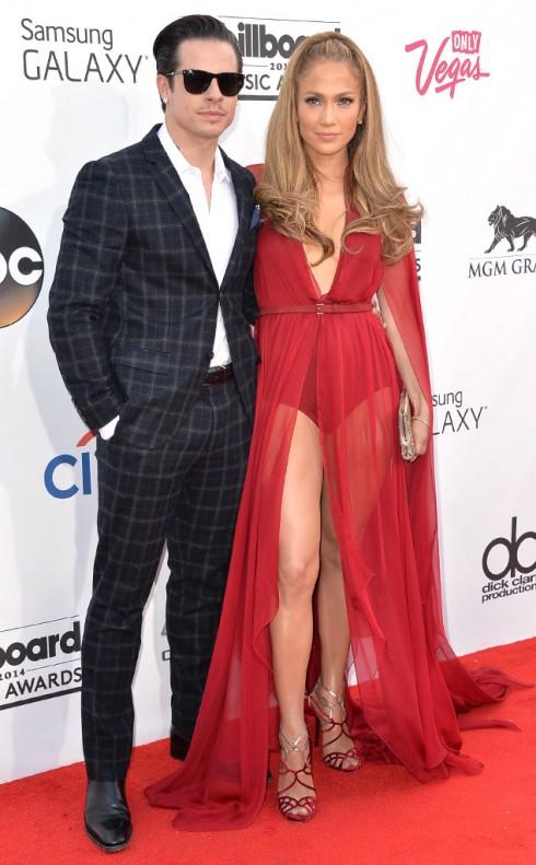 Jennifer Lopez và Casper Smart