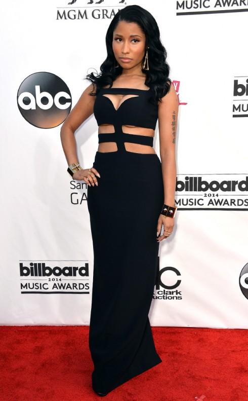 Nicki Minaj với phong cách giản dị như những sự kiện gần đây cô tham gia.