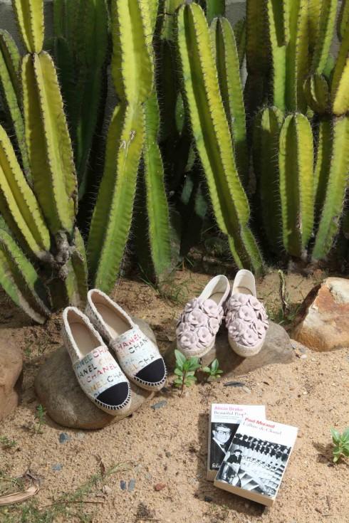 Giày Espadrilles Xuân Hè 2014 mới nhất của Chanel