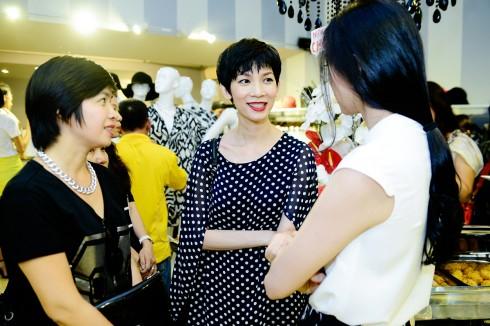 Siêu mẫu Xuân Lan trò truyện cùng Ngô Thanh Vân