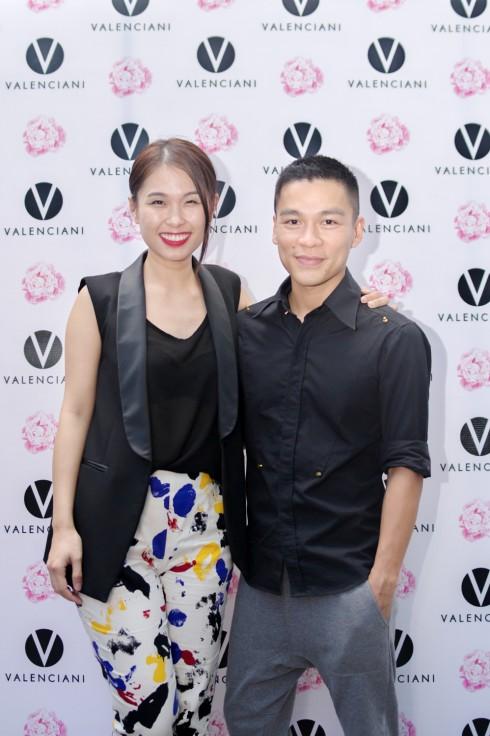 NTK/Giám đốc sáng tạo Adrian Anh Tuấn  và GĐ Marketing tạp chí ELLE