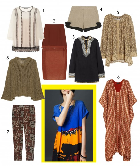 1.Alberta Ferretti 2.Stalla McCartney 3.Tory Burch 4.Red Valentino 5.Donna Karan 6.The Row 7.Maiyet 8.The Row