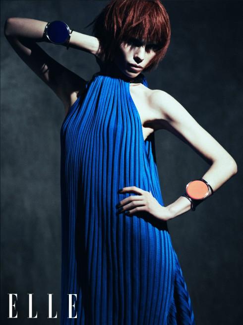 Đầm và vòng tay Céline
