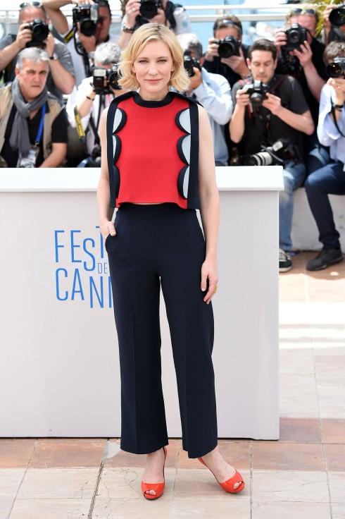 Cate Blanchett trong thiết kế Delpozo